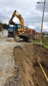 OBAVIJEST za javnost- organizacija prometa za vrijeme radova na sanaciji klizišta Ž2128 Vojnovec Loborski